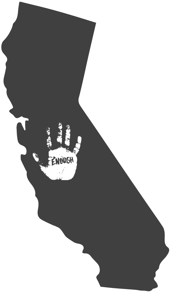 eac state maps California - one hand